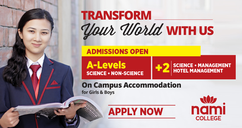 Admissions  Open (A Levels and +2)