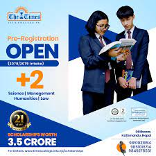 Scholarships worth 3.5 Crore on Pre-registration open at The Times International College